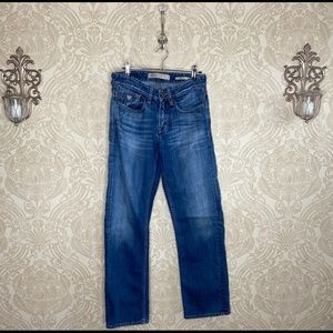 Guess vintage relaxed fit medium wash jeans